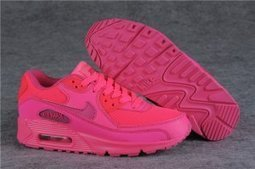 Nike Air Max 90 GS Running Shoes Hyper Pink | Nike Running Shoes | Scoop.it