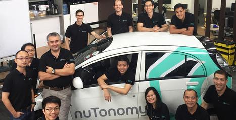 Les taxis autonomes du MIT débarquent sur les routes de Singapour | Post-Sapiens, les êtres technologiques | Scoop.it