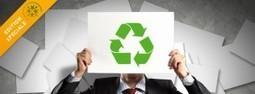 Le papier recyclé, c'est maintenant ! | Développement durable pour les entreprises et les collectivités | Scoop.it