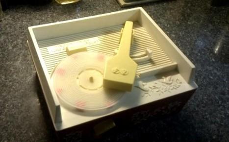 Un tocadiscos en 3D   Freshgadgets.nl   Encacharrados con FabLab   Scoop.it