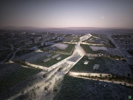 Des tentes végétalisées en forme de dunes pour une technopole marocaine | économie circulaire, économie de la fonctionnalité | Scoop.it