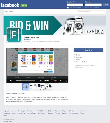 Social Shopping Network ® Launches Competitive Social Shopping Facebook App - EIN News | social bidding | Scoop.it