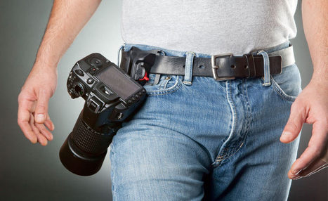 The Spider Holster Keeps Your Camera Right By Your Side | Photo Tips Tricks & Cheat Sheet | Scoop.it