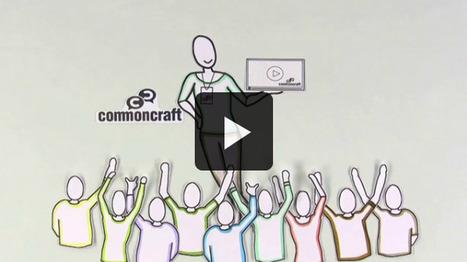 Common Craft : bibliothèque de vidéos utiles pour enseigner en personne et sur la toile | Je, tu, il... nous ! | Scoop.it