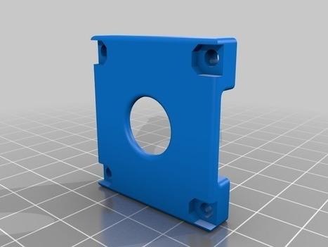 Raspberry Pi camera case by Mibben | Raspberry Pi | Scoop.it