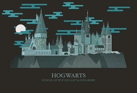 Lovely animated illustrations of the magical places from 'Harry Potter' | D_sign | Scoop.it