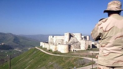 Crusader castle has Syria war scars | The Crusades | Scoop.it