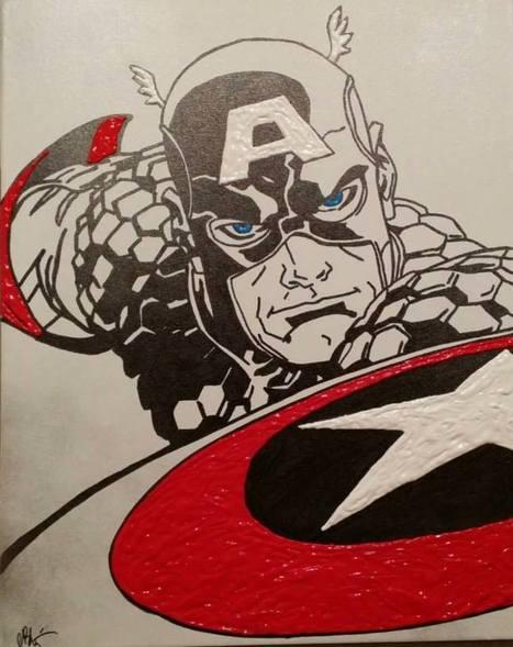 Las Vegas:  Local Artist Bachli Serves Up Superhero Artwork | Art and Art Marketing | Scoop.it