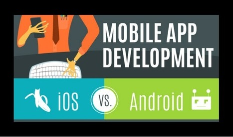 Mobile app development: iOS vs Android [infographic] | M-learning, E-Learning, and Technical Communications | Scoop.it