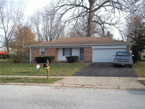 Nice Home with Wood Burning Fireplace (Indianapolis) for Sale | homes for sale in america | Scoop.it