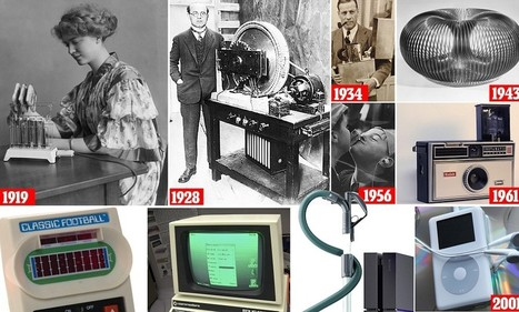 The century's top 100 inventions that changed our lives | tecno4 | Scoop.it