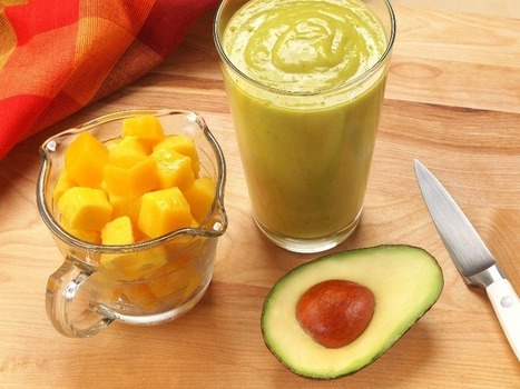 Mango Avocado Smoothie | drinks | Scoop.it