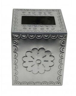 Tin Tissue Holder-Natural Cube Shape   Talavera Pottery and Switch Plate Cover   Scoop.it