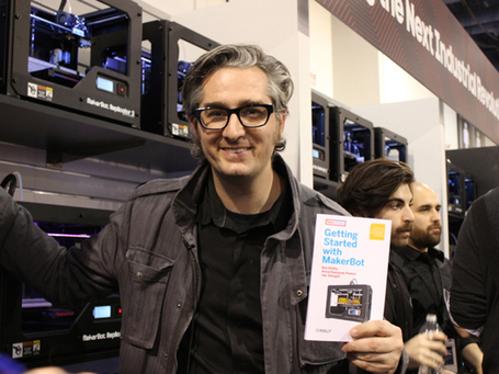 Hot Brooklyn-Based 3D Printing Startup MakerBot Just Got Acquired In $403 Million Deal | cross pond high tech | Scoop.it