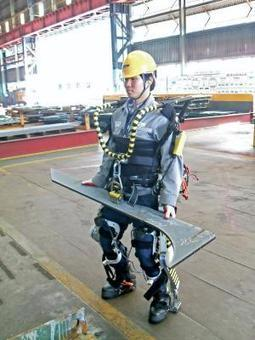 Robotic suit gives shipyard workers super strength | Managing Technology and Talent for Learning & Innovation | Scoop.it