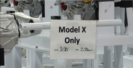 A rare look at the robots putting Tesla's Model X together | Post-Sapiens, les êtres technologiques | Scoop.it