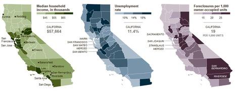 California's Economic Split Pits West vs. East   Geography Education   Scoop.it