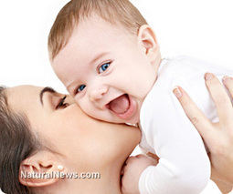 Baby's scent works like drugs on mothers' brains | Telcomil Intl Products and Services on WordPress.com