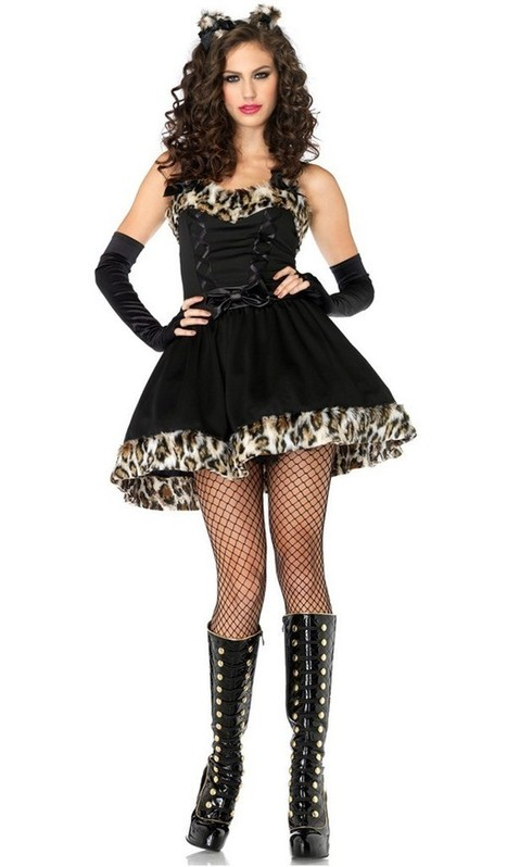 Lovely Sexy Halloween Leopard Kitty Costume for Adult Women   Favorite Costumes   Scoop.it