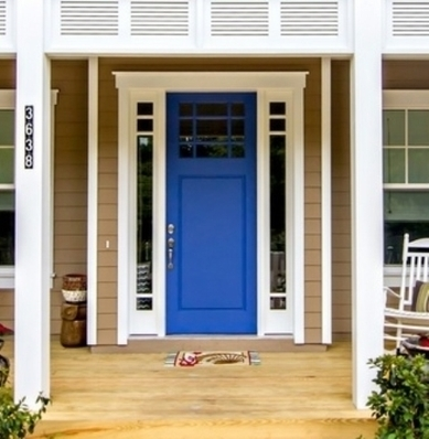 Blue front door colors meaning feng shui advices home decorating