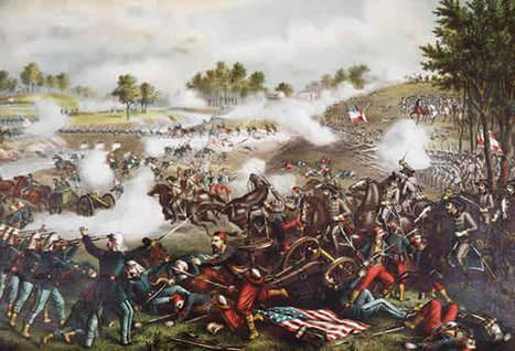 bull-run-lithograph.jpg (605x412 pixels) | The Civil War | Scoop.it