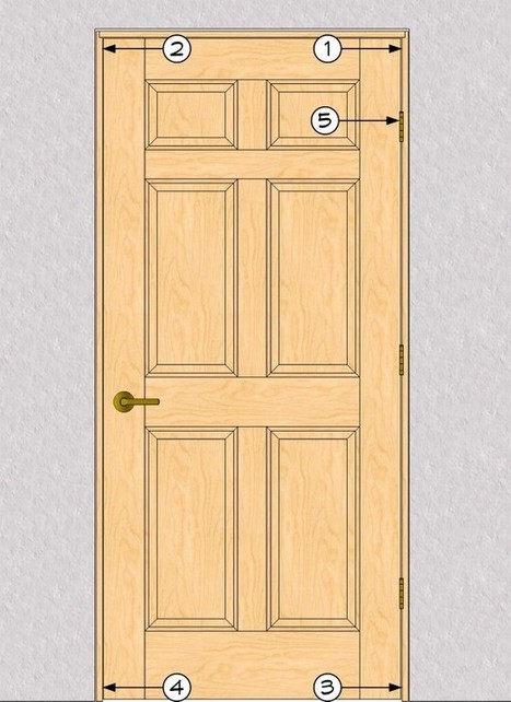 Problem-free Prefit Doors | THISisCarpentry | How to Install a Prehung Fiberglass Door | Scoop.it