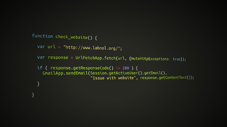 Awesome Things You Can Do With Google Scripts | Google Apps Script | Scoop.it