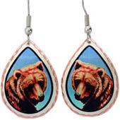 Animal Earrings, Wildlife Earrings, Colorful Handmade Jewelry | Handmade Jewelry by Copper Reflections | Scoop.it