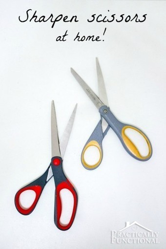 How To Sharpen Scissors At Home | Practically Functional | Fashion Zone | Scoop.it