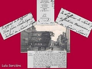 Lulu Sorcière Archive: Mourir à Vivonne 1818/1824   GenealoNet   Scoop.it