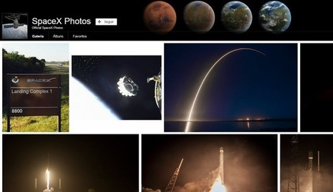 Más de 100 fotos de SpaceX ya son de dominio público | Recull diari | Scoop.it