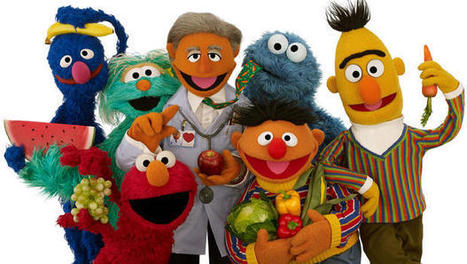 Muppets mini-makeover aims to boost kids' health | Education | Scoop.it