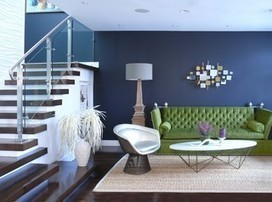 Cool Color Palettes: Enviable Green and Blue Spaces | Designing Interiors | Scoop.it