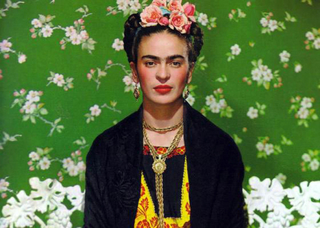 How Photos Beget Photos: Frida's Flower Children | Photography Now | Scoop.it