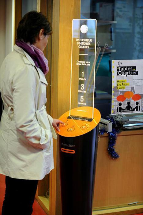 Grenoble installe des distributeurs d'histoires pour patienter | We need new stories | Scoop.it