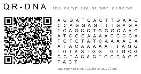 QR Code DNA Art | artcode | Scoop.it