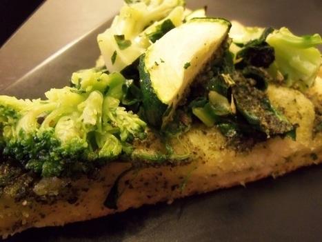 Elana's Meat-Free Monday: Green Pizza | My Vegan recipes | Scoop.it