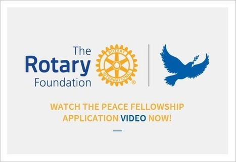 Rotary Peace Scholar - The Rotary Club of Roundhay | The Rotary Club of Roudhay | Scoop.it