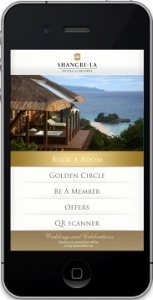 Shangri-La sur iPhone | Hotel eMarketing | Scoop.it