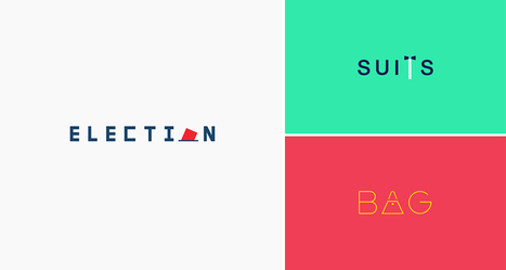 29 Clever Typographic Logos Of Common Words We Use Everyday | DigitalSynopsis.com | Scoop.it