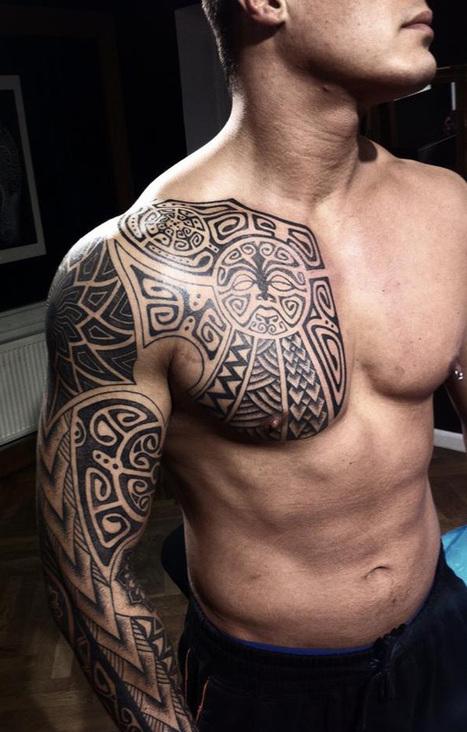 40 Nice Chest Tattoo Ideas   Cuded   Tattoo exhibition   Scoop.it