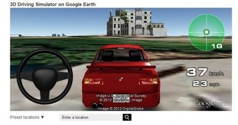 Simulador para conducir en 3D usando los mapas de Google Earth | thfhfgjtryhe4hty | Scoop.it