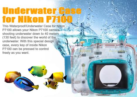 40M 130ft Waterproof Underwater Camera Case Housing Diving for Nikon P7100 | Linkdelight.com | Photo & Video  Accessories | Scoop.it