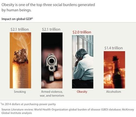 Comment le monde pourrait mieux lutter contre l'obésité   McKinsey & Company   Public Health - Santé Publique   Scoop.it