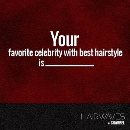The name of your favorite celebrity with best hairstyle is _ | Fashion in UAE | Scoop.it