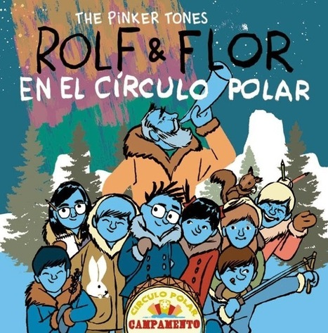 Literatura infantil y juvenil actual: The Pinker Tones saca la segunda parte de la palindrómica serie Rolf y Flor | Rolf & Flor | Scoop.it