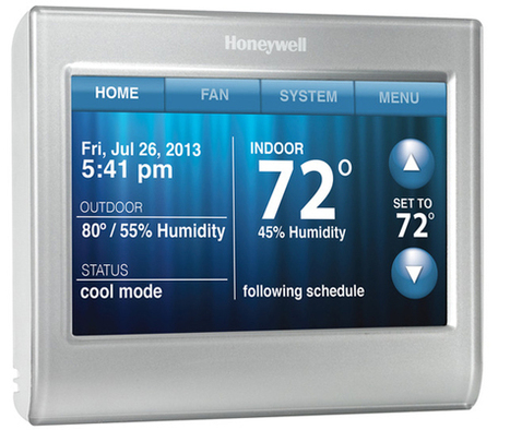New Honeywell Wi-Fi Thermostat Coming in May | The SmartHome | Scoop.it