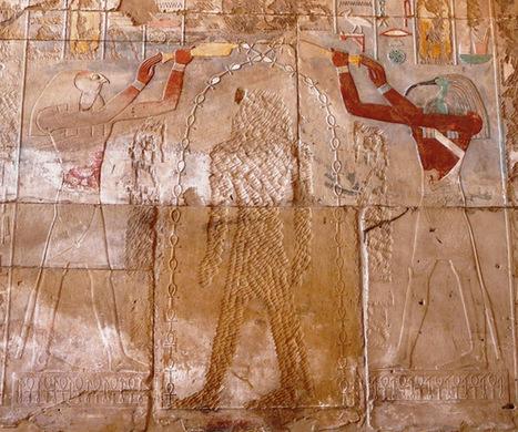 ARTE E ICONOGRAFÍA: LA REINA HATSHEPSUT ENTRE HORUS Y THOT | Hatshepsut | Scoop.it