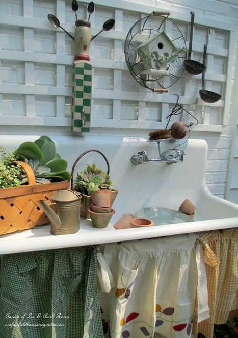 Our Summer Potting Sink | Up Cycled Garden | Scoop.it