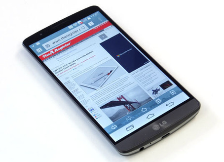 LG drops G3 quad HD Android mobe with FRIGGIN' LASER camera | LibertyE Global Renaissance | Scoop.it